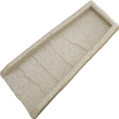 EMSCO Natural Resin Splash Block – Granite Design – Prevents Washouts and Protects House Foundations