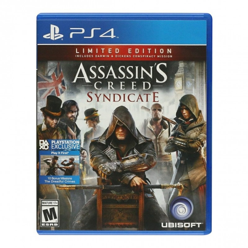 ASSASSIN'S CREED SYNDOCATE (PS4)