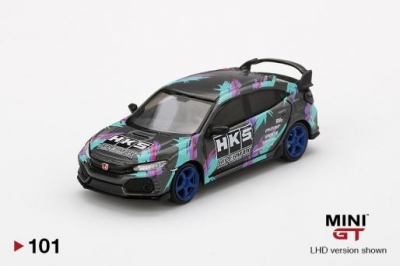 Mini GT Honda Civic Type R HKS 2018 Time Attack INFO