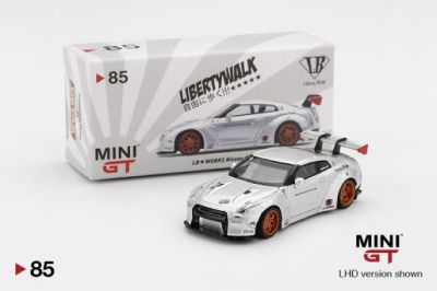 MiniGT LB Works GTR Taiwan Exclusive Magic Pearl