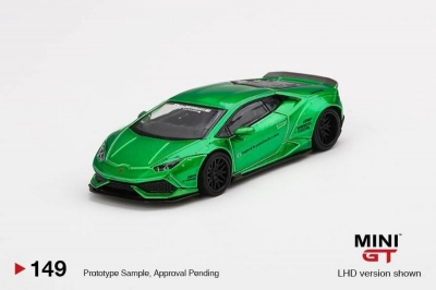 Mini GT LB WORKS Lamborghini Huracan Version 2 Green