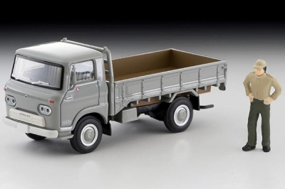 Tomica TLV LV-191a ISUZU ELF High Deck Body Gray