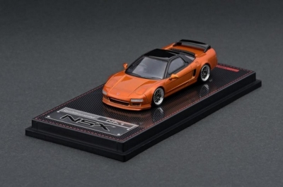 IG Ignition Model 1/64 Honda NSX (NA1) Orange Metallic