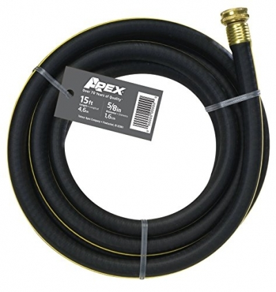 Apex, REM-15, Connector Hose, 5/8-inch by 15-feet (Colors may vary)