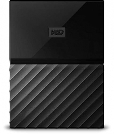 WD 4TB Black My Passport  Portable External Hard Drive - USB 3.0 - WDBYFT0040BBK-WESN