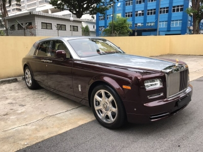Rolls Royce Phantom - 6 Hours Disposal
